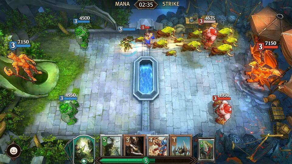 Game-Mobile-Hay-iOS-Android-Magic-ManaStrike-Gameviet.mobi-2